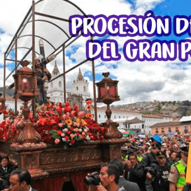 Procesión Jesús del Gran Poder en Quito