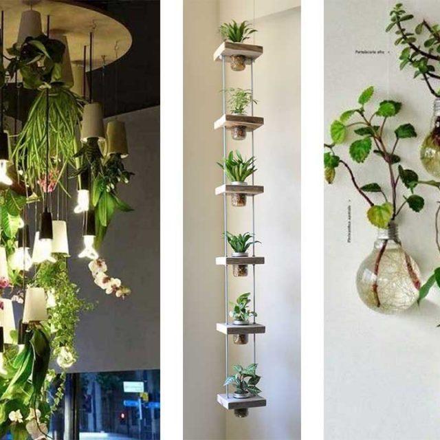 17 creativas ideas para ponerle verde a tus espacios pequeños